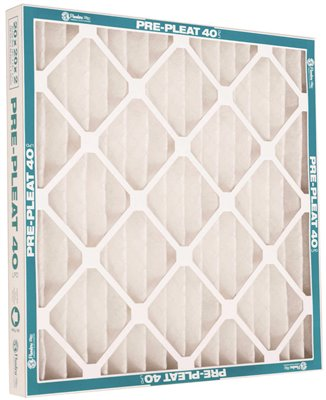 FLANDERS� MERV 8 PRE-PLEAT� 40 LPD HIGH-CAPACITY AIR FILTER, 20X24X2 IN.,