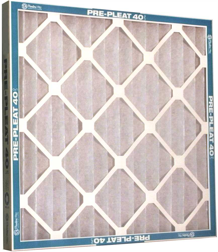 8a3464e33e2 FLANDERS  MERV 7 PRE-PLEAT 40 LPD ECONOMY AIR FILTER