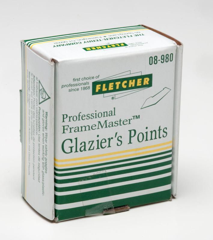 08-980 STACKED GLAZIER POINTS