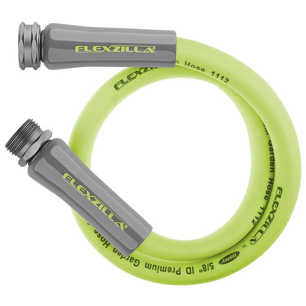 Flexzilla Garden Lead in Hose 5/8in x 3ft 3/4in   11 1/2 GHT Fittings