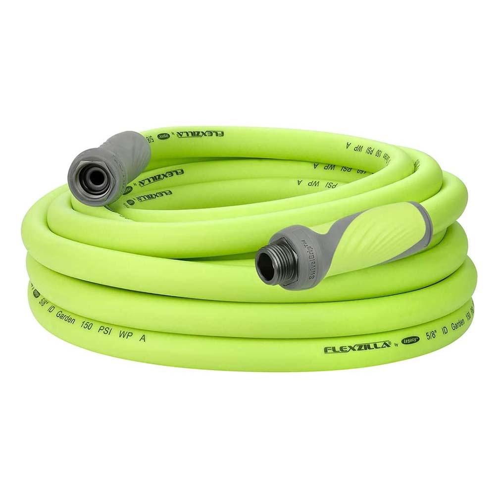Flexzilla SwivelGrip Garden Hose 5/8in x 25ft 3/4in   11 1/2 GHT Fittings