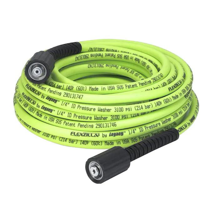 Flexzilla Pressure Washer Hose 1/4in x 50G�� M22 Fittings