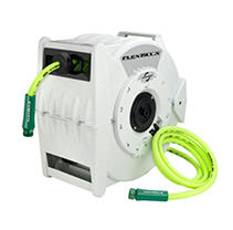 Flexzilla Retractable Water Hose Reel with Levelwind Technology 1/2