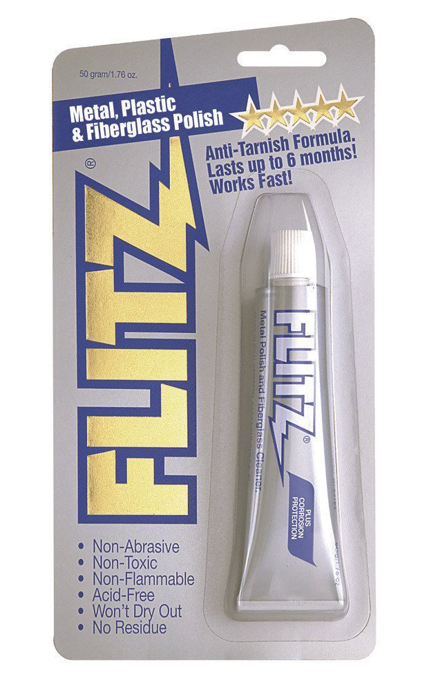 Flitz Metal Polish, 1.76 oz. Tube