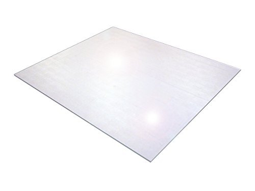 Cleartex Ultimat XXL Polycarbonate Chair Mat for Hard Floors, 60 x 79, Clear