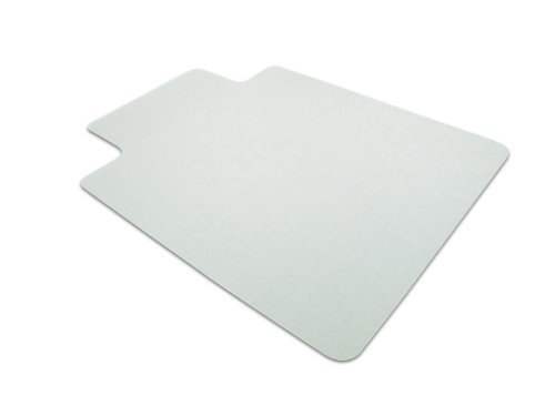 EcoTex Revolutionmat Recycled Chair Mat for Hard Floors, 48 x 36, With Lip