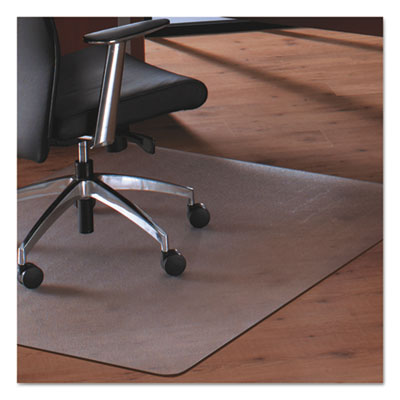 Cleartex MegaMat Heavy-Duty Polycarbonate Mat for Hard Floor/All Carpet, 46 x 53