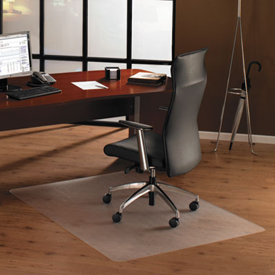 "Cleartex Ultimat Polycarbonate Chair Mat for High Pile Carpets, 60"" x 48"""