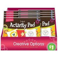Frontline 9861 3-In-1 Activity Pad, 60 Sheet