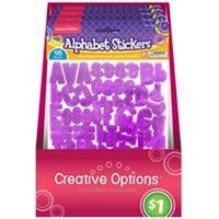 Frontline 9906 Self-Adhesive Alphabet Sticker
