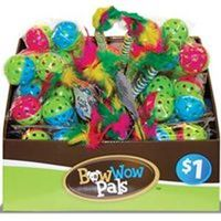 Bow Wow Pals 8855 Cat Toy, Assorted