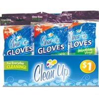 Frontline 8879 Disposable Gloves, Latex