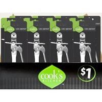 Cook's Kitchen 8212 Can Opener, Stainless Steel