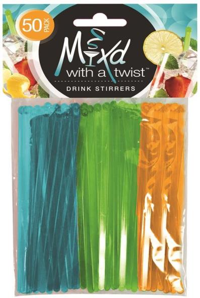 Frontline 6031 Assorted Mixed Beverage Stirrer