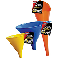 Elite Auto Care 9698 General Purpose Auto Funnel Set, 48 Pieces