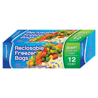 FREEZER RCLSB ZIP 12CT QT
