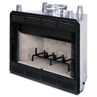 FIREPLACE LOUVRED WD BURN 42IN