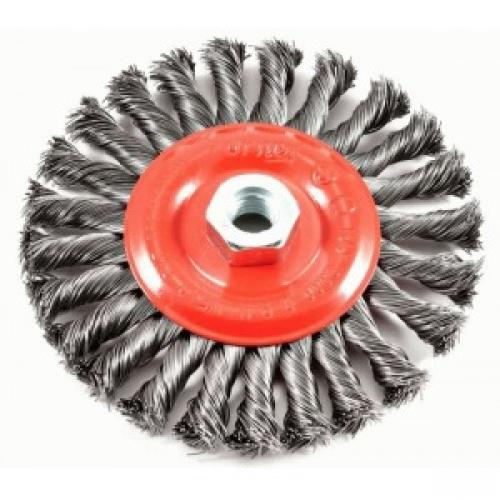 BRUSH WIRE WHEEL KNOT 6X.012IN