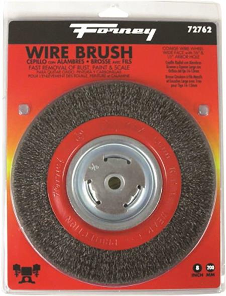 BRUSH WIRE WHEEL CRS 8X.012IN