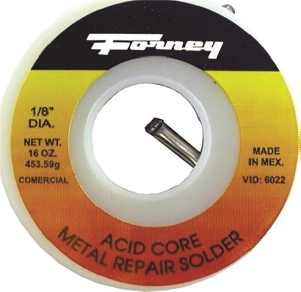 SOLDER 1/8IN AC30TIN/70L 1/2LB
