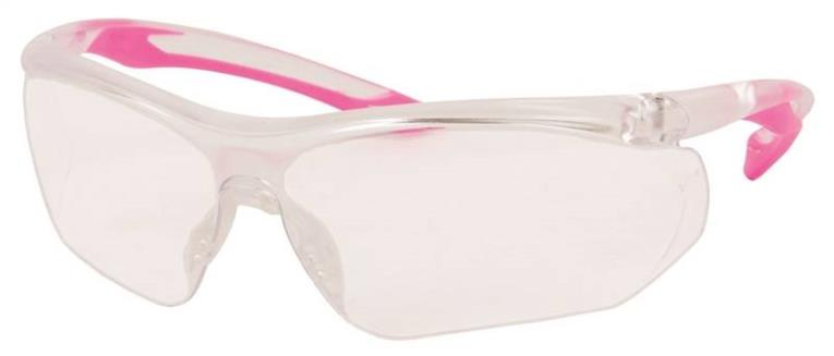 Parralax 55428 Safety Glasses, Clear, Clear