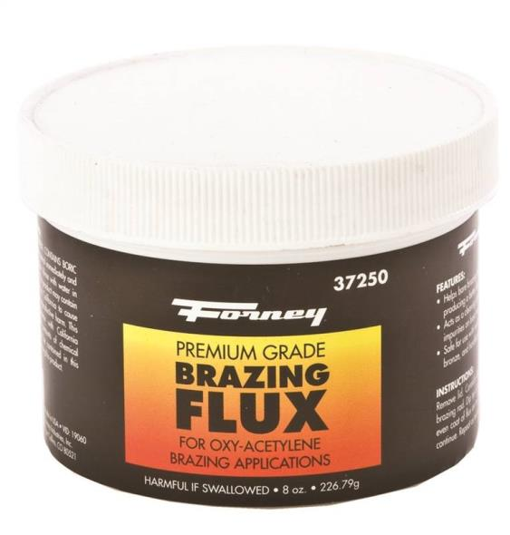 FLUX BRAZING BORAX TYPE 1/2LB