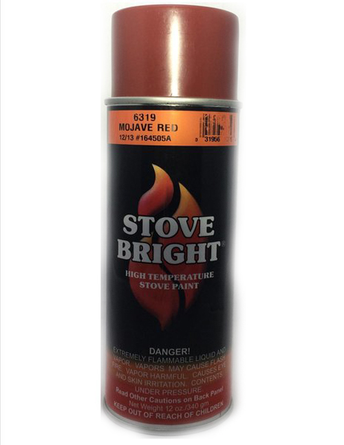 Mojave Red Stovebright Stove Paint