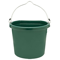 Fortex/Fortiflex 1301823  Flat Back Buckets, Hunter Grn
