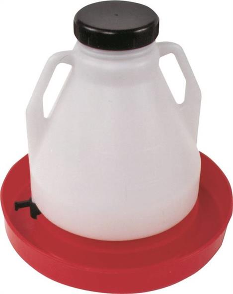 4 Gallon Poly Poultry Fountain