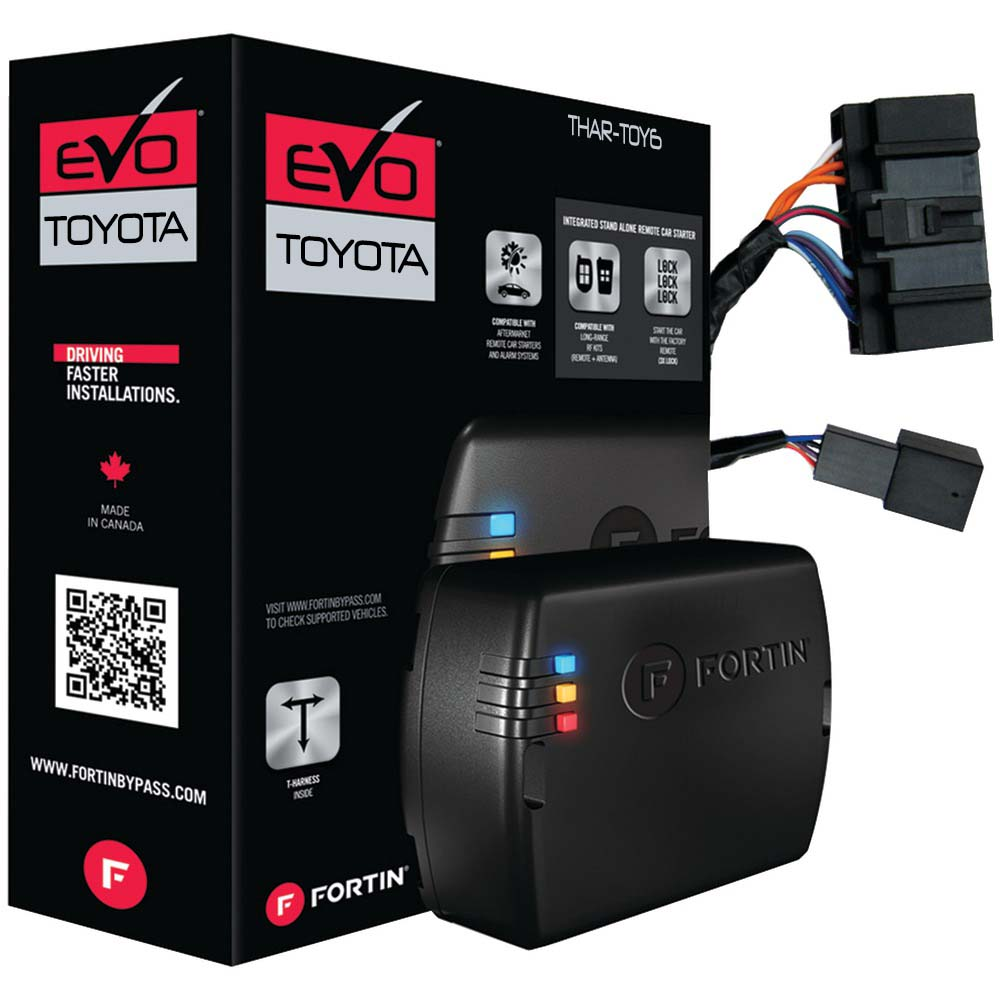 Fortin T-Harness For select Toyota/Lexus Push-to-start vehicles; compatible with EVO-ALL & EVO-ONE