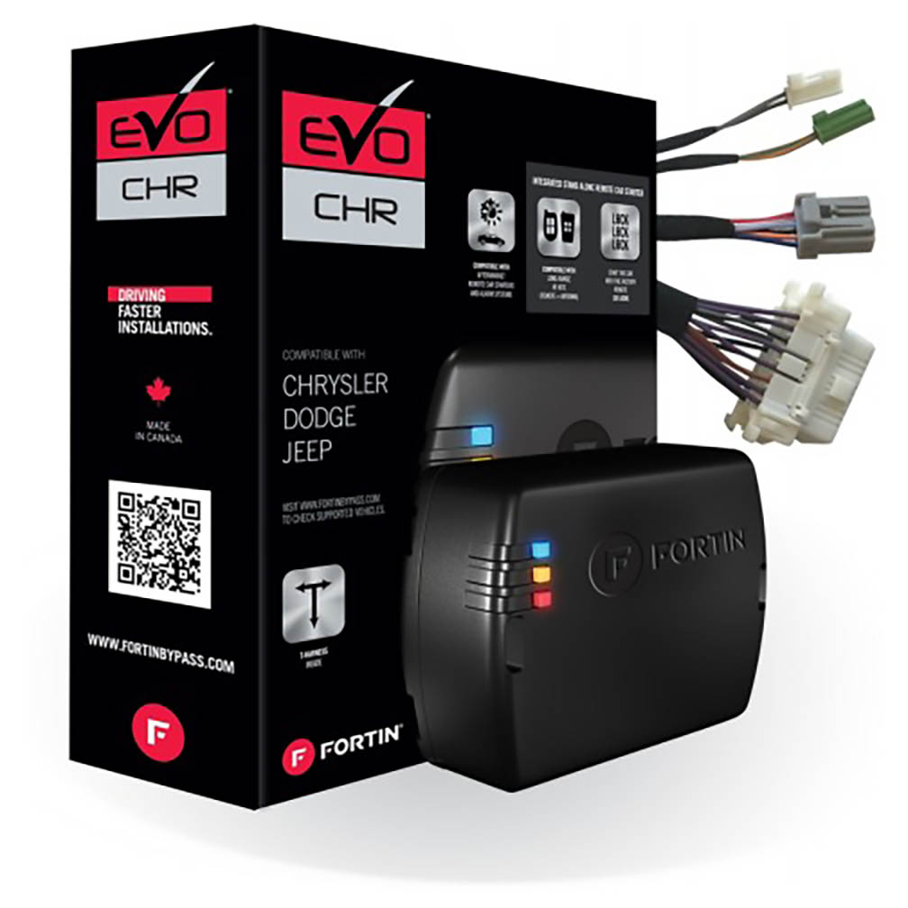 Fortin Combo module & T-Harness for 2013+ Chysler Dodge and Jeep Tip-Start & Push-To-Start vehicles