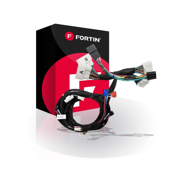 Fortin EVO‐ALL and T‐Harness for select Toyota and Lexus Push‐To‐Start '12-'21
