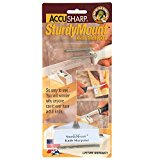 Accusharp SturdyMount Utility Knife Sharpener, For Use With All Types of Knives, White