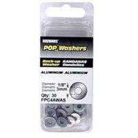 SureBonder FPC4AWAS Short Blind Rivet Washer, 1/8 in, Aluminum