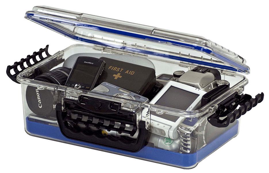 Frabill Guide Series Waterproof Case -  Large Blue