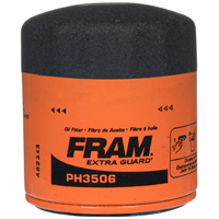 Extra Guard PH-3506 Spin-On Full-Flow Lube Oil Filter, 2.98 in Dia x 3.36 in L