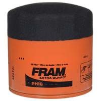 Extra Guard PH-16 Spin-On Full-Flow Lube Oil Filter, 3.66 in Dia x 3.69 in L
