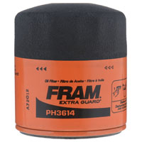 Extra Guard PH-3614 Spin-On Full-Flow Lube Oil Filter, 2.98 in Dia x 3.34 in L