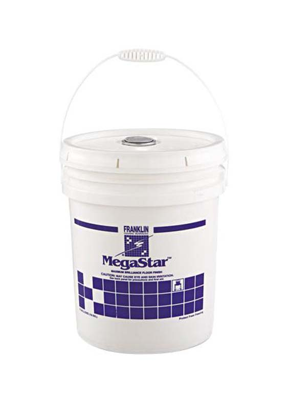 Ultra-Fast Acrylic Floor Finish, For Heavy Traffic Areas, 5gal Pail