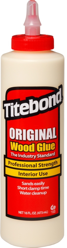 506-4 16 OZ TITEBOND WOOD GLUE