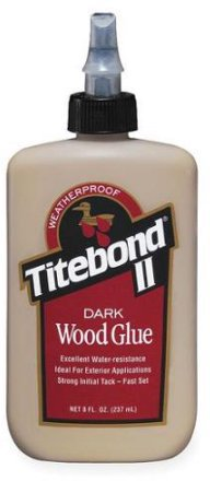 370-3 8Oz Titebond Dark Woodglue