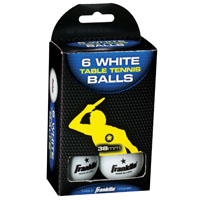BALLS TT WHITE 6CT 38MM