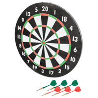 DARTBOARD PAPER 17IN