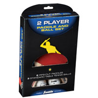 PADDLE/BALL SET 2-PLAYER