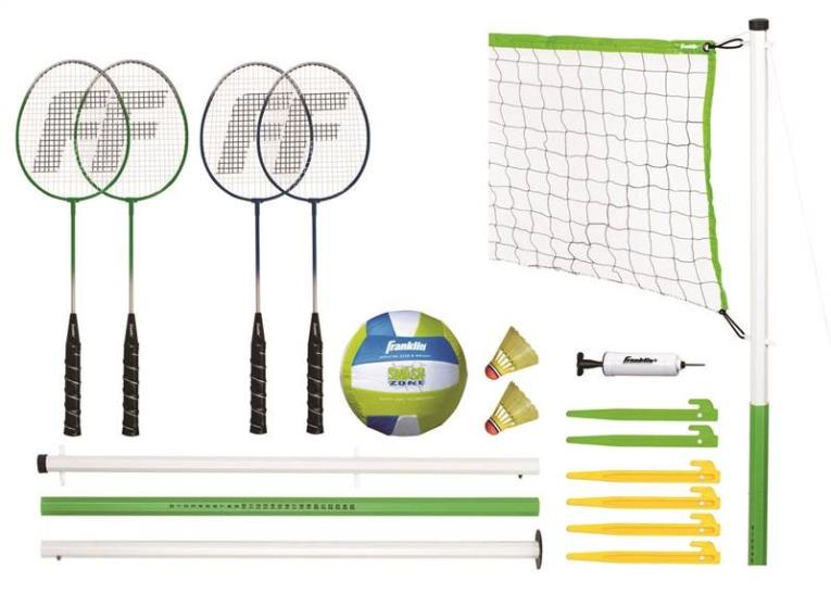 Kaba 50601 Badminton/Volleyball Set, Intermediate