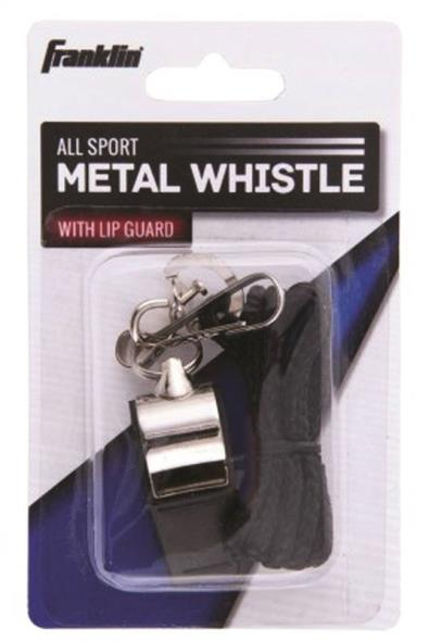 WHISTLE METAL W/LANYARD