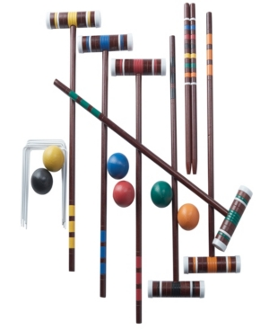 CROQUET SET FAMILY OUTDR GAME