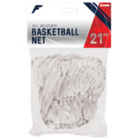 NET BASKETBALL POLY 12LOOP WHT
