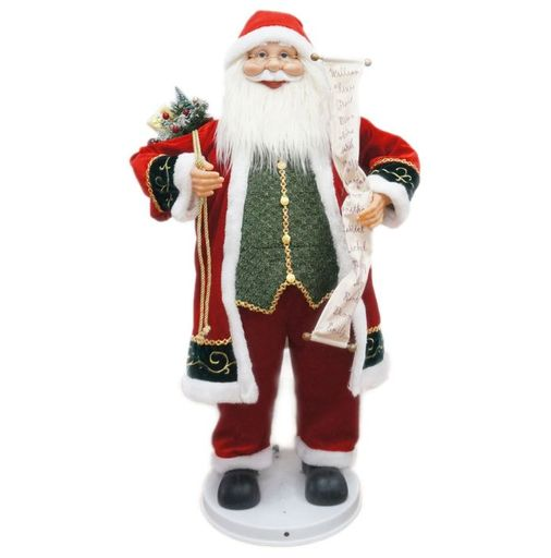 "36"" Santa With Scroll (Dancing/Music)"