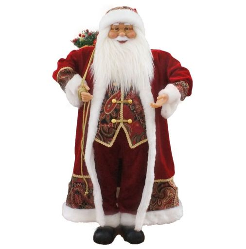 "36"" Santa With Paisley Vest (Music)"